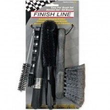 Set de brosses nettoyage vélo Finish Line Easy Pro Kit