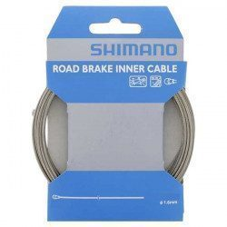 Cable de freno de carretera Shimano acero inoxidable 1.6x2050