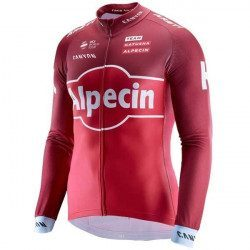Maillot vélo manches longues Katusha Sports Team Replica 2017