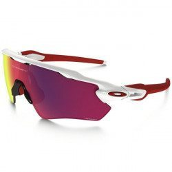 Lunettes vélo Oakley Radar EV Path Polished White / Prizm Road