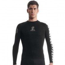 Sous maillot manches longues Assos SS skinFoil Spring Fall evo7