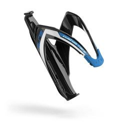 Porte-bidon Elite Custom Race noir brillant logo bleu