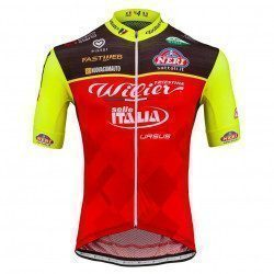 Maillot vélo manches courtes Wilier Triestina Team Wilier Selle Italia Replica 2017