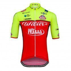 Maillot vélo manches courtes Wilier Triestina Team Wilier Selle Italia Replica 2018