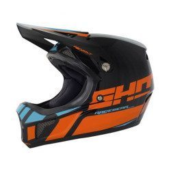 Casco integral Shot Rogue Revolt Neon Orange Blue 2018