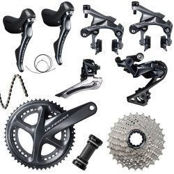 Groupe complet vélo route Shimano Ultegra R8000 freins Direct Mount 2x11v