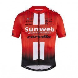 Maillot vélo manches courtes Craft Team Sunweb Replica 2019