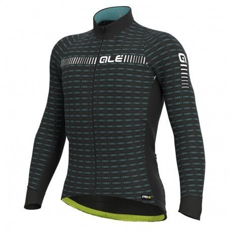 Maillot vélo manches longues Alé Cycling PRR Green Road 2021